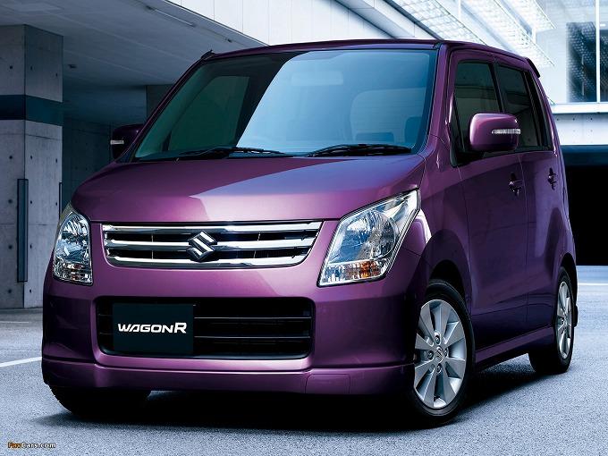出典:favcars.com スズキ ワゴンR FX limited
