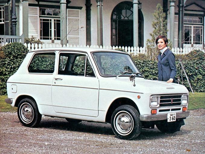出典:favcars.com ダイハツ  フェロー '66