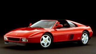 フェラーリ 348 ('89~'94):328の後継モデルとして登場。エンジンを縦置きに