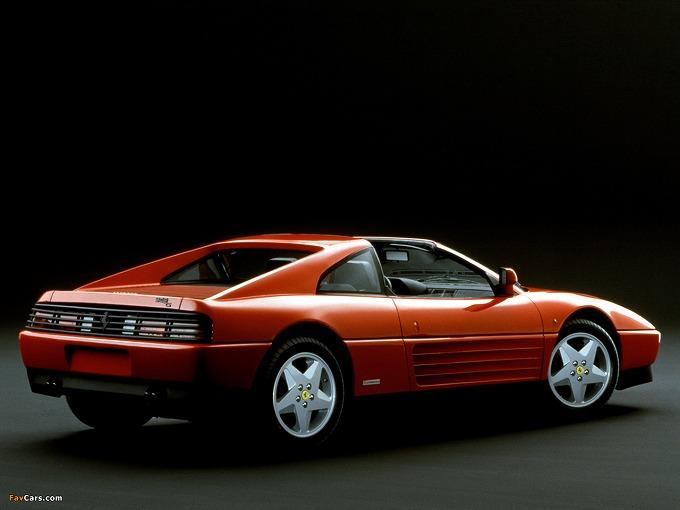 出典:favcars.com フェラーリ 348TS '89