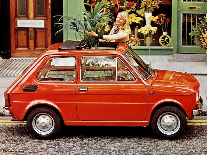 出典:favcars.com フィアット 126 '72