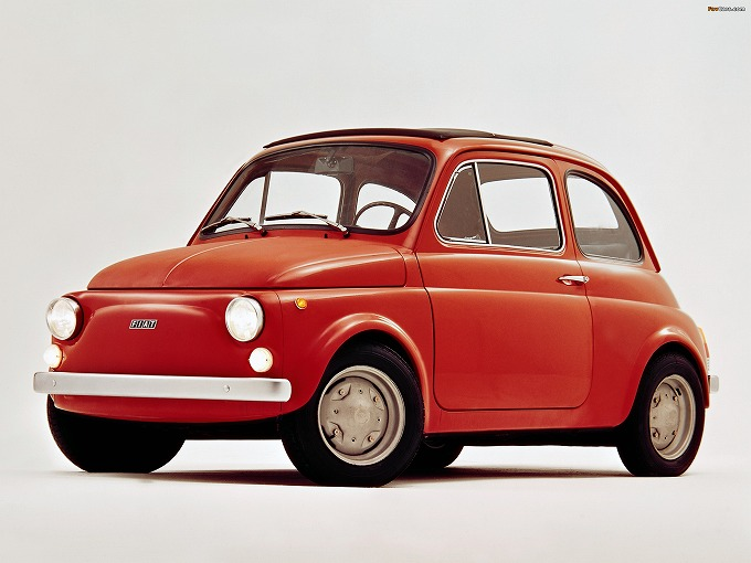 出典:favcars.com フィアット 500 '72