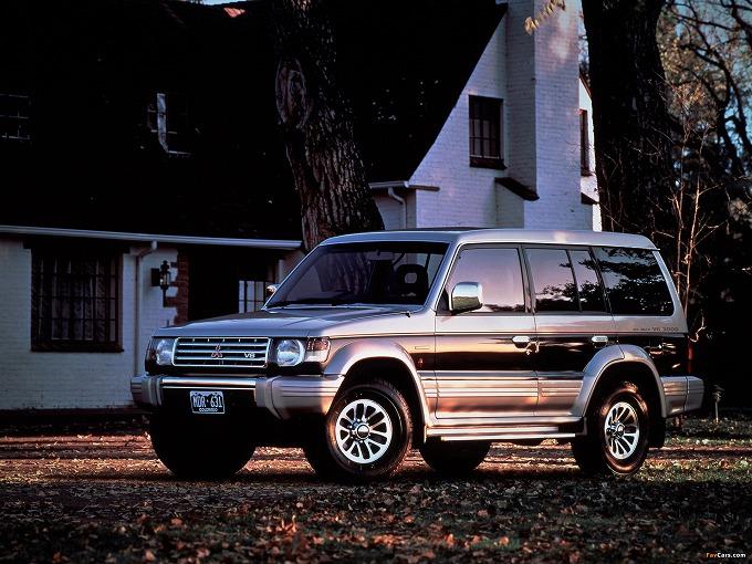 出典:favcars.com 三菱 パジェロ '91
