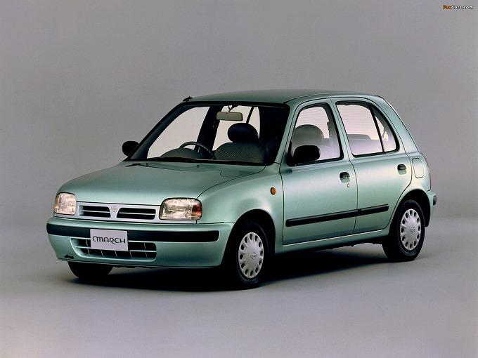 出典:favcars.com 日産 マーチ '92