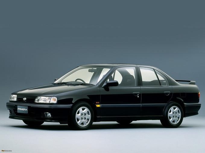 出典:favcars.com 日産 プリメーラ '90