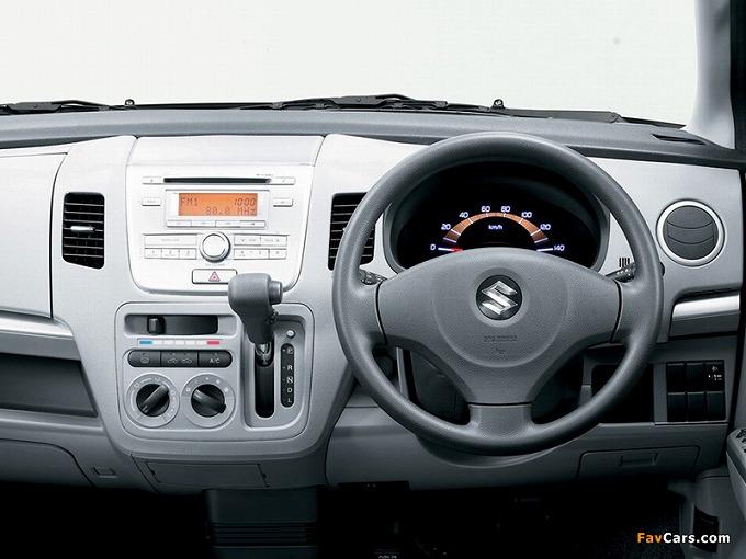 出典:favcars.com スズキ ワゴンR 4th '08