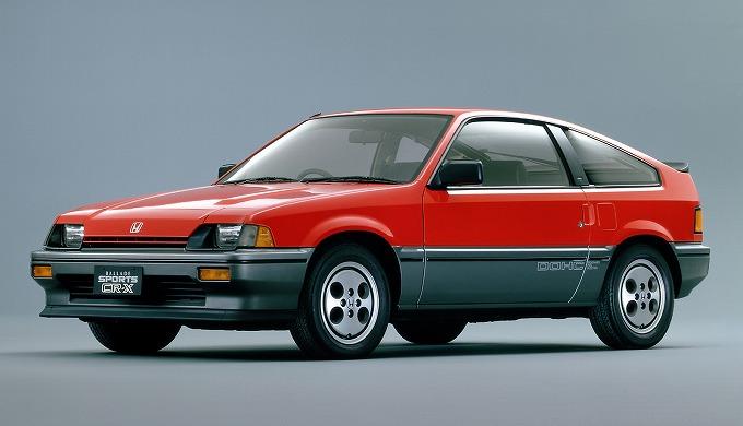 ホンダ バラードスポーツ CR-X '83-'87 (出典:favcars.com)