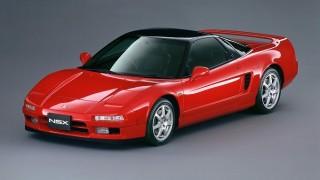 ホンダ NSX (初代 NA '90-'05):オールアルミボディのスーパースポーツ