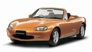 マツダ ロードスター (2代目 NB '98-'05):エンジンをパワーアップ。派生モデルも登場