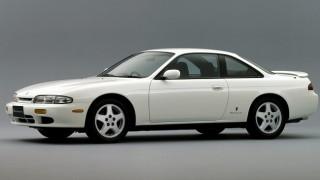 日産 シルビア (6代目 S14 '93-'98):サイズアップとマイルドなデザインに。後期は大幅フェイスリフト