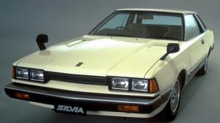 日産 シルビア (3代目 S110 '79-'83):4灯ライトのプレーンなスタイリングに変身。クーペブームの一翼を担う