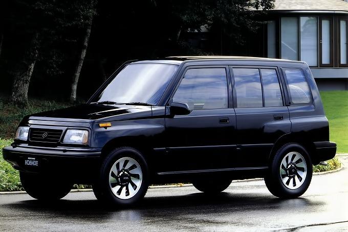 スズキ エスクード ノマド 初代 1988 1997 の口コミ評価 新車購入