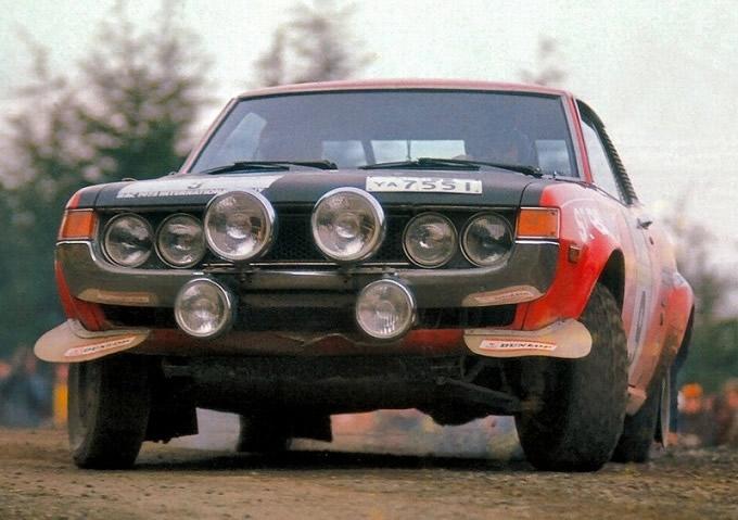 トヨタ セリカ  1600 GT Group 2 Rally Car