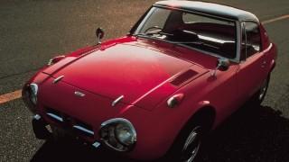 トヨタ スポーツ800 (UP15 '65~'69):通称「ヨタハチ」。水平対向2気筒800cc45馬力