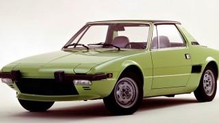 フィアット X1/9 (128AS/AS1 '72-'89):ガンディーニがデザインしたコンパクト・ミッドシップ