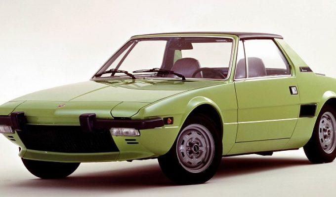 フィアット X1/9 (128AS/AS1 1972-1989):ガンディーニがデザインしたコンパクト・ミッドシップ