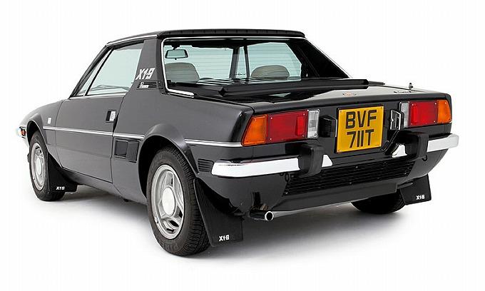 フィアット X1/9 (UK仕様) 1976-78