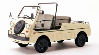 バモスホンダ (初代 TN360 '70-'73):空冷360ccMR。唯一無二の個性派軽トラック