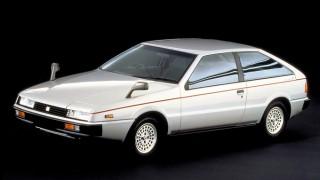 いすゞ ピアッツァ (初代 JR120/130  '81-'91):ジウジアーロのデザインを纏った名車
