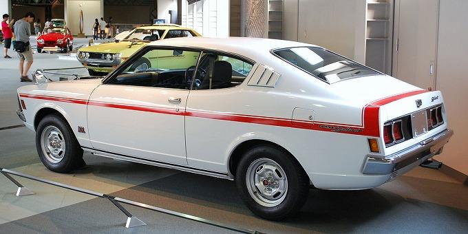 三菱 コルトギャラン GTO MR 1970-77 (出典:wikipedia.org)