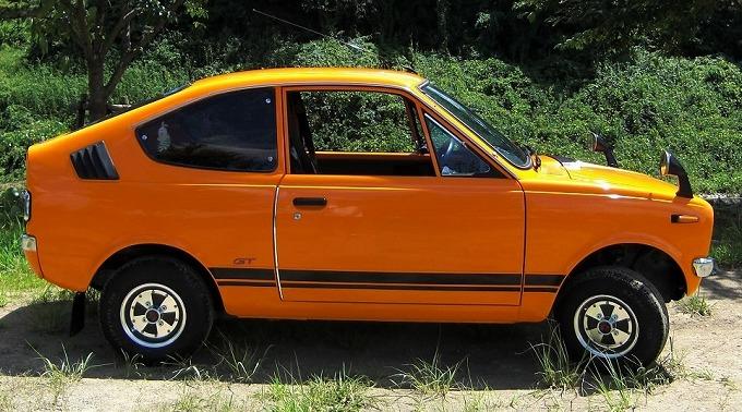 三菱 ミニカ スキッパーIV GT 1971-74 (出典:wikipedia.org)