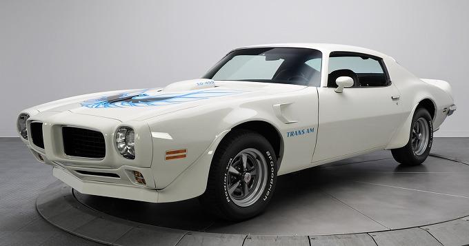 ポンティアック ファイアーバード トランザム 1973 (出典:favcars.com)