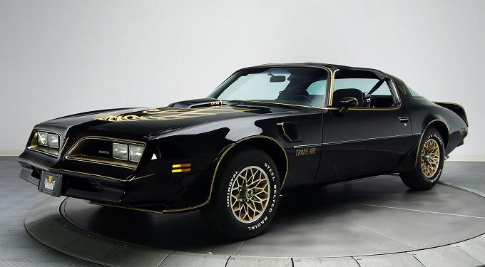 ポンティアック ファイアーバード トランザム 1978 (出典:favcars.com)