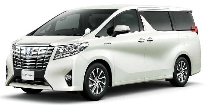 トヨタ アルファード 2015