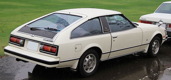 トヨタ セリカXX 1978-81 (出典:wikipedia.org)