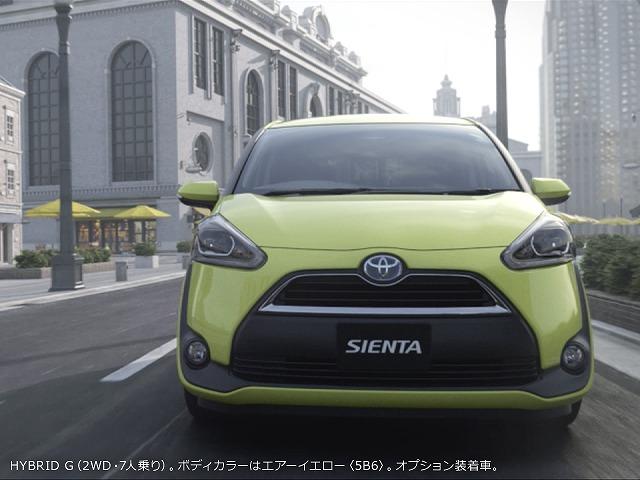 トヨタ シエンタ 2015