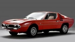アルファロメオ モントリオール ('70-'77):ガンディーニデザインの2.6L V8GT
