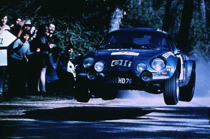 アルピーヌ A110 Rally Car