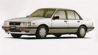 いすゞ アスカ (初代 '83-'89):フローリアン後継のオーソドックスなFFセダン [JJ110/120/510]