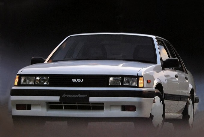 いすゞ アスカ イルムシャー 1985