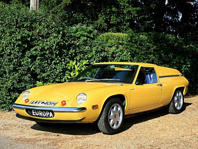 ロータス ヨーロッパ S2 1968-75