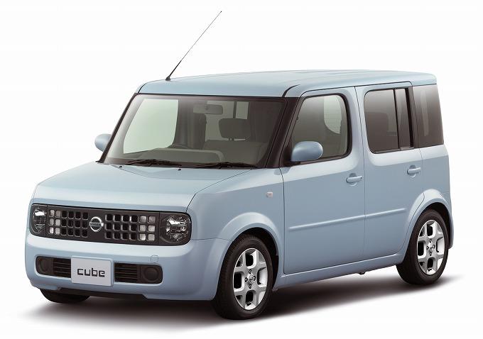 日産 キューブ 2002-08 (出典:favcars.com)