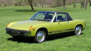 ポルシェ 914 (47GK '69-'76):VWとの共同開発で誕生した廉価なMRポルシェ