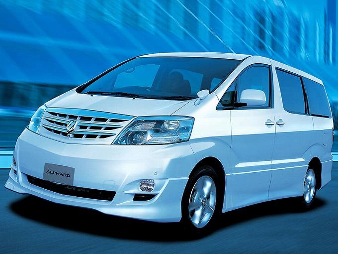 トヨタ アルファード H10W 2002-08
