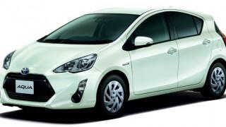 トヨタ アクア買取り/下取り査定価格相場-2016年版