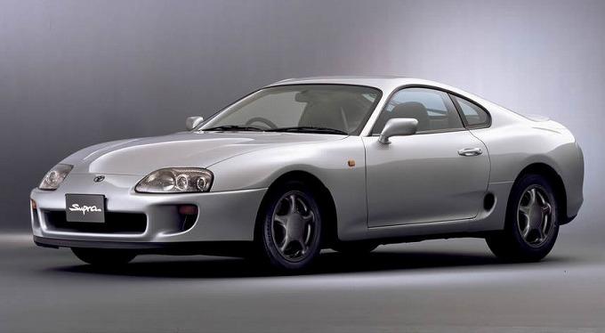 トヨタ スープラ 1993-02
