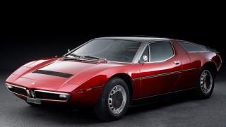 マセラティ ボーラ ('71-'78):マセラティ初のミッドシップGT