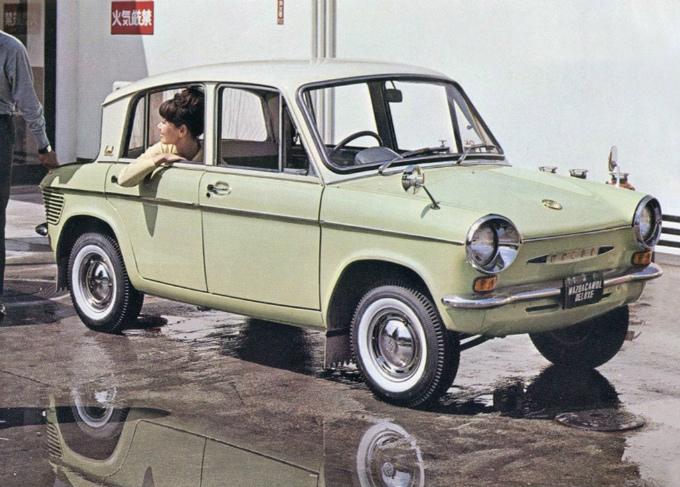 Mazda carol 360 1962 70 1
