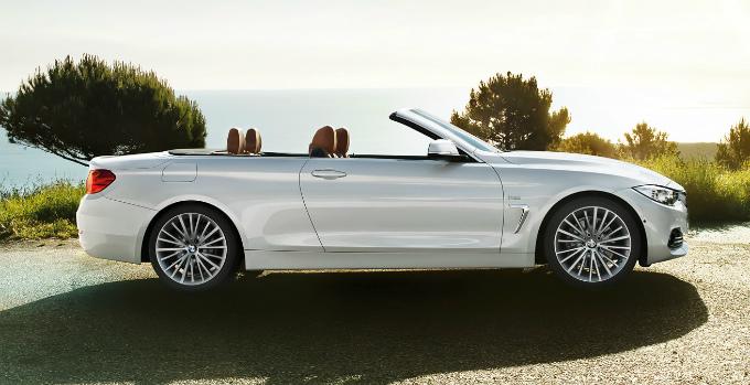 BMW 4シリーズ カブリオレ 2015 (出典:bmw.co.jp)