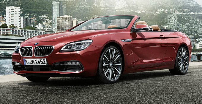 BMW 6シリーズ カブリオレ 2015 (出典:bmw.co.jp)
