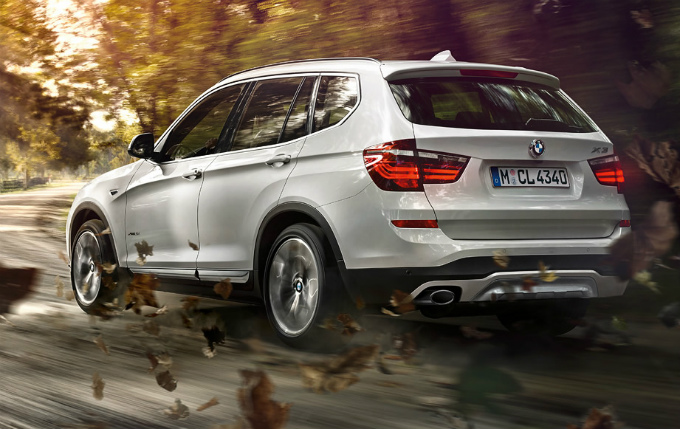 BMW X3 2015 (出典:bmw.co.jp)