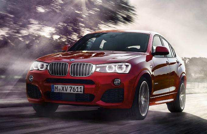 BMW X4 2015 (出典:bmw.co.jp)
