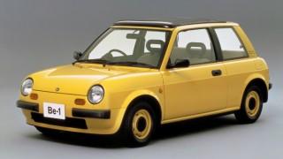 日産 Be-1 (BK10 '87-'88):レトロ調デザインで一世を風靡した元祖国産パイクカー