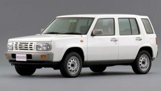 日産 ラシーン (NB14 '94-'00):パイクカーテイストのクロスオーバーSUV