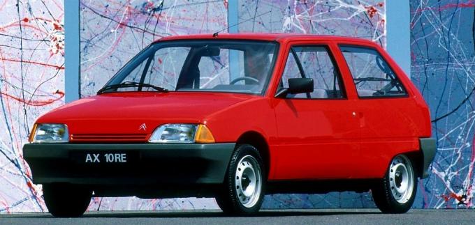 シトロエン AX 3Dr 1986