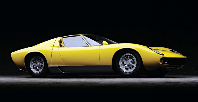 ランボルギーニ ミウラP400 1966-69